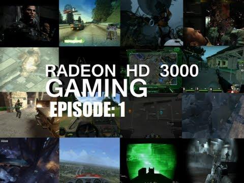 Gaming on an ATI Radeon HD 3000 EP:1 (HD)