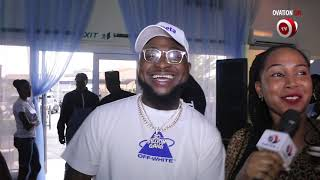 Davido at Imade39s hair product Launch in Lagos