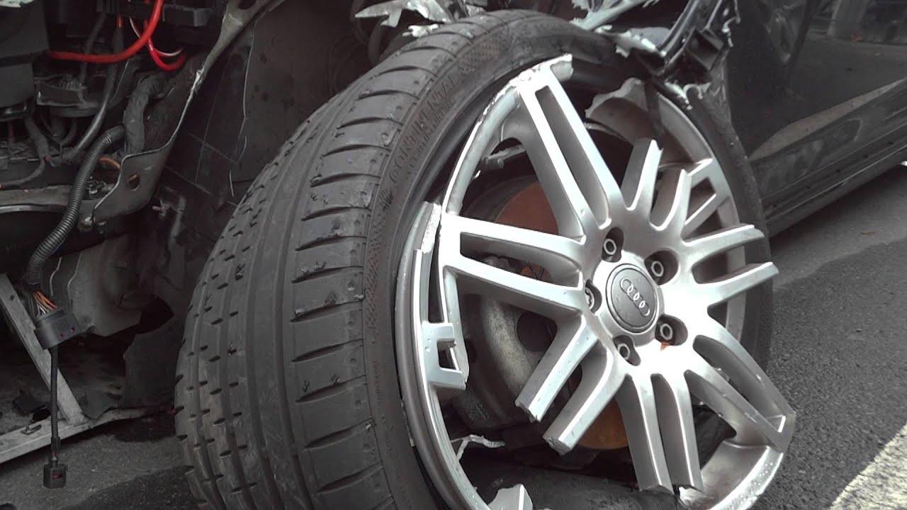 brand new audi a3 cabrio crash unfall accident totalschaden crash wreck wreckeded youtube. Black Bedroom Furniture Sets. Home Design Ideas