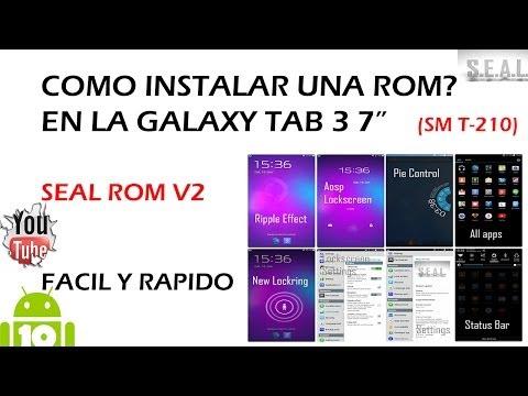 Como Instalar una ROM en la Galaxy Tab 3 7