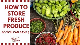 How to Store Fresh Produce (Never Throw Away Slimy Lettuce Again!)