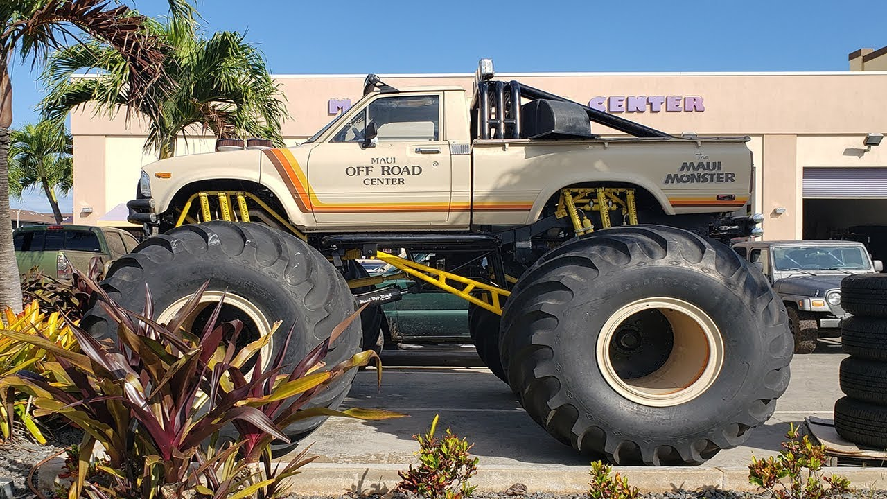 Maui Off Road >> The Maui Monster Toyota Truck