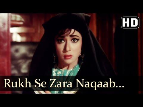 rukh-se-zara---mala-sinha---jeetendra---mere-huzoor---shankar-jaikishan---hindi-song