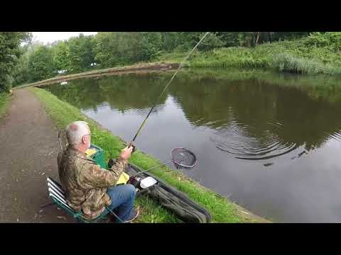Fishing Sankey Canal,Feat: Roy Brown