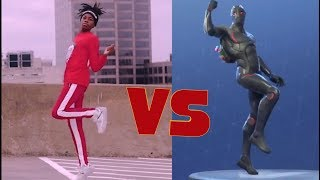 ALL FORTNITE DANCES IN REAL LIFE! | Zach Clayton