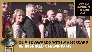 Be Inspired Champions on the Red Carpet