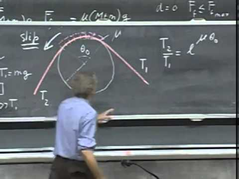 Lec 25: Static Equilibrium, Stability, Rope Walker | 8.01 Classical Mechanics (Walter Lewin)