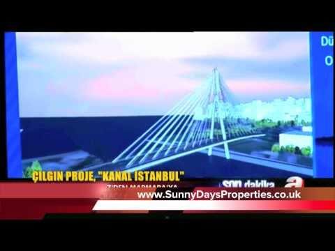 CANAL ISTANBUL - New Bosphorus Project - Mr ERDOGAN - TURKEY ISTANBUL