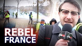 Raw! BEST Paris riot video: police vs protesters  | Jack Buckby