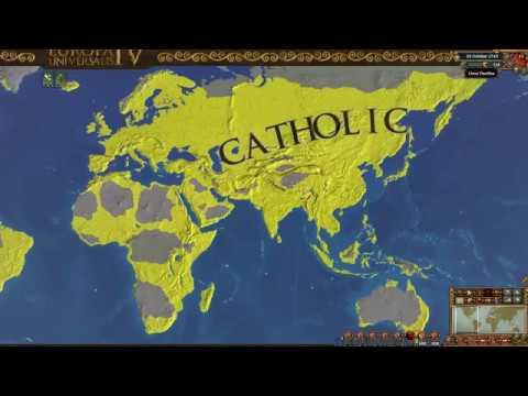 【EU4】France WC 1.28 One Faith (1444~1745)  