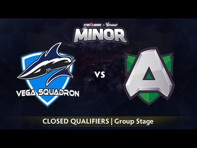 Vega vs Alliance Game 1 - StarLadder ImbaTV EU Qualifier: Group Stage