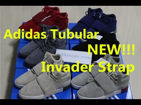 dbd4a3f98d8e Adidas Tubular Invader Strap 750 Different Colorway Review - YouTube