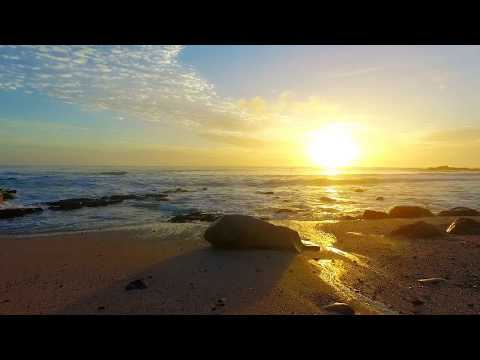 Slow Motion Drone Flying Over Waves | Royalty Free Drone & Travel Vlog HD Stock Video Footage