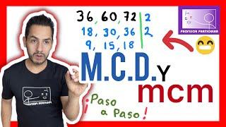 Minimo comun multiplo y maximo comun divisor | Aritmética