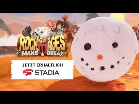 Rock of Ages 3: Make & Break – Accolades-Trailer – Jetzt auf Stadia verfügbar!