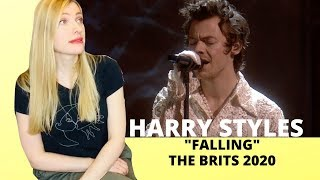 "Vocal Coach Reacts: HARRY STYLES ""Falling"" Live The Brits 2020"