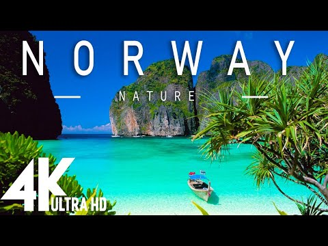 FLYING OVER NORWAY (4K UHD) - Relaxing Music Along With Beautiful Nature Videos(4K Video Ultra HD)