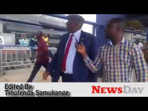 Kasukuwere returns from exile amid demonstration