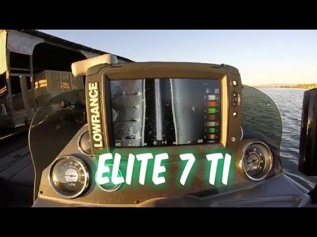 Lowrance Elite 7 Ti Settings Youtube