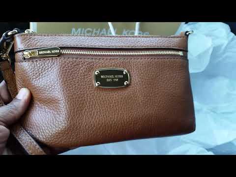 Michael Kors : Jet Set Large Wristlet / color luggage