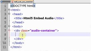 MEDIA TUTORIAL Mengembed Audio ke html tanpa flash + auto control #HIJABERS