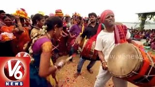 Bathukamma Song Teaser - V6 tribute to Bathukamma festival