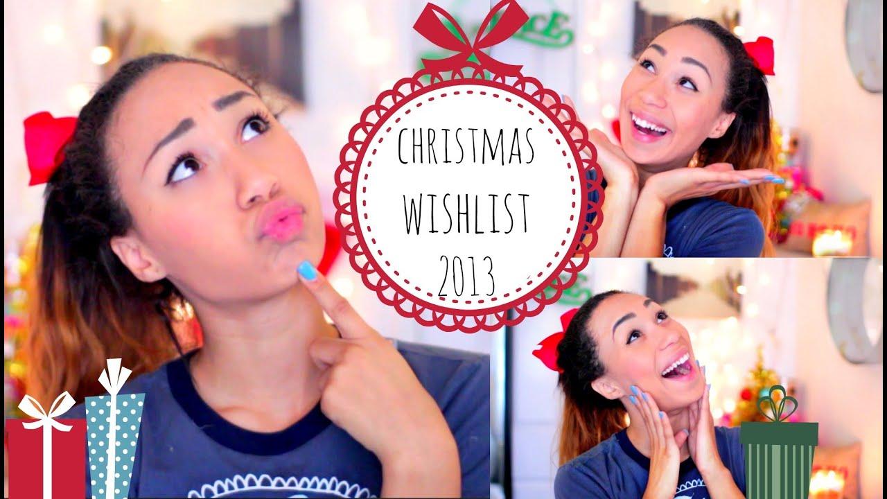 my christmas list 2013 mylifeaseva youtube