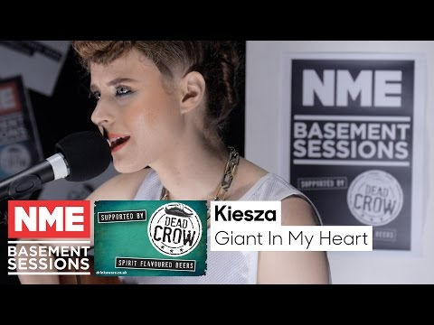 Kiesza Plays 'Giant In My Heart' (Acoustic) - NME Basement Session