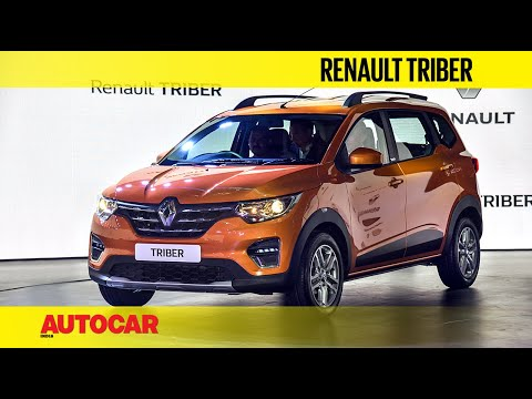 Renault Triber compact 7-seater | First Look and Walkaround | Autocar India
