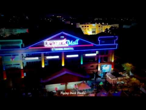 Anggerik Mall Mara Digital Mall DJI Spark Drone Footage Colour Graded