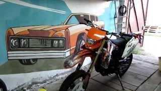Сборка, распаковка abm x-moto zr 250 motard