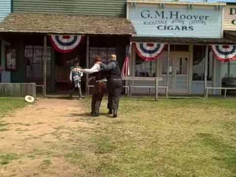 Dodge City Kansas Shootout at the Long Branch Saloon 7-09