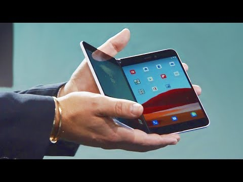 First Microsoft Foldable Phone and Dual-Screen Tablet Introduction - Surface Event 2019
