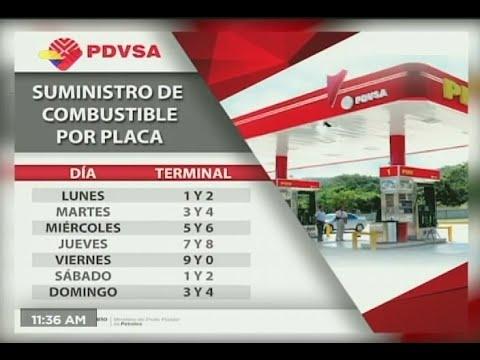 Tareck El Aissami detalla nuevo esquema de suministro de gasolina a partir del 5 octubre