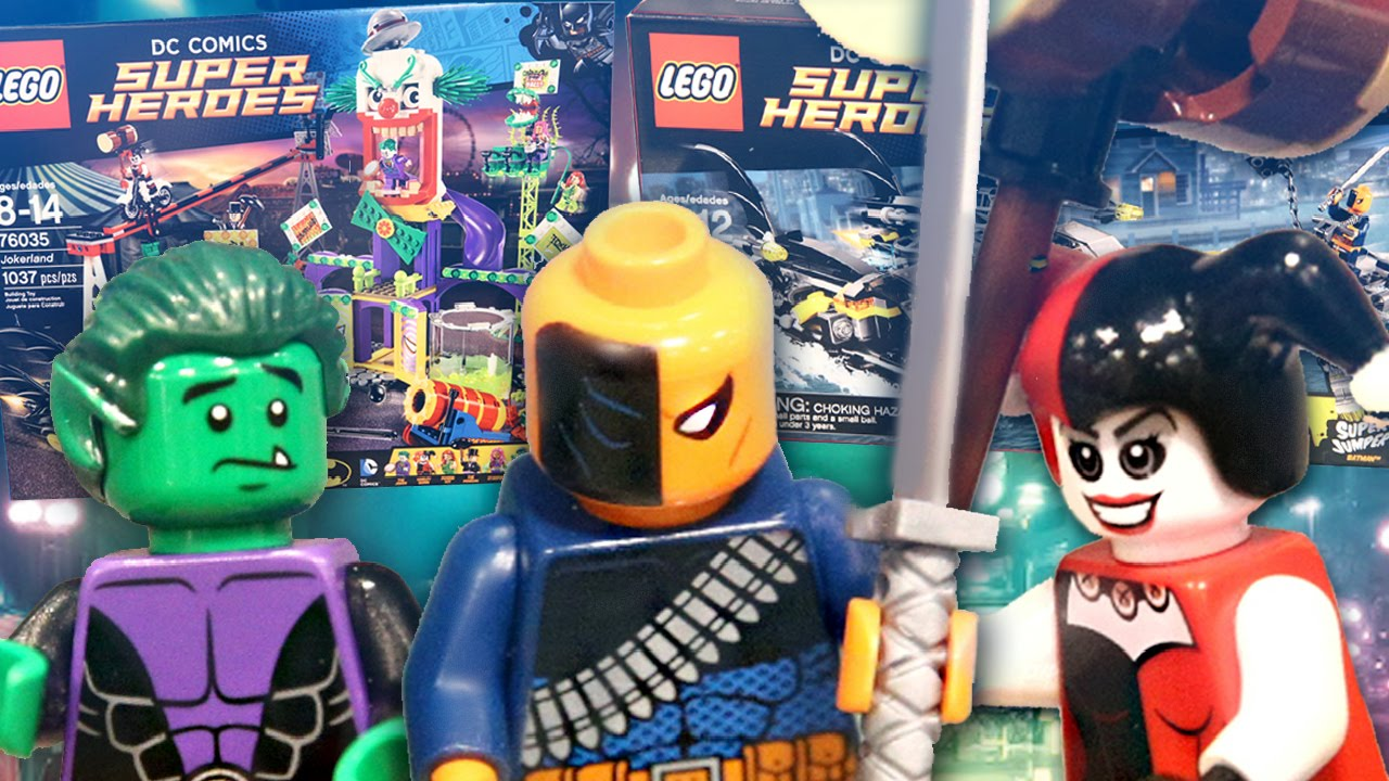 LEGO DC SUPERHEROES SUMMER 2015 SET PICTURES - YouTube