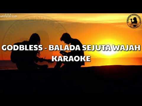 Karaoke Godbless - Balada Sejuta Wajah