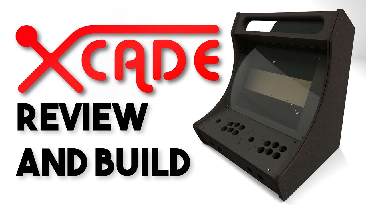 BARTOP ARCADE BUILD!   XCADE B19C Review And Full Build!   YouTube
