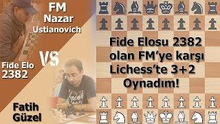 Lichess Elosu 2400+ Olan Ustaya Karşı Oynadım!