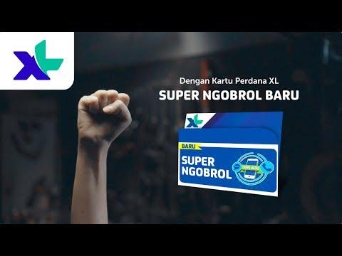 Bebaskan Bicaramu Sekarang dengan Kartu Perdana XL Super Ngobrol Baru   XL Presents