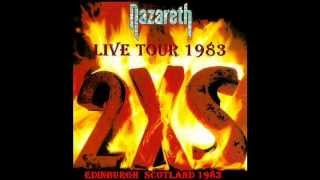 Tour 2XS 1983 Live Edinburgh Scotland.