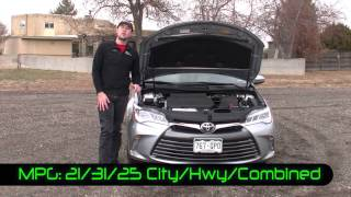 Real First Impressions Video: 2015 Toyota Camry XLE Sedan
