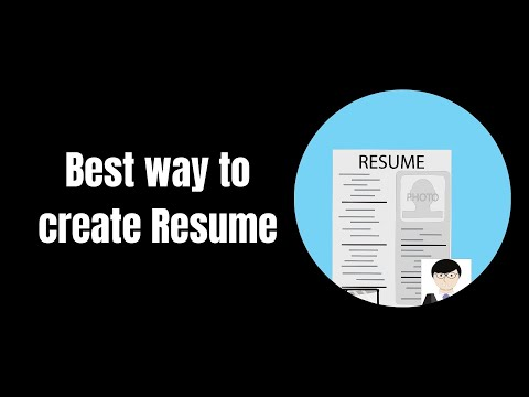How to create a beautiful resume #resume #infographic