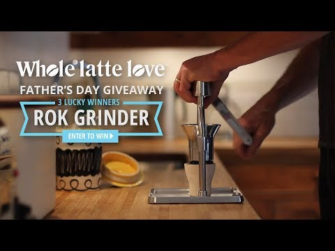Father's Day Giveaway – Win a ROK Coffee Grinder!