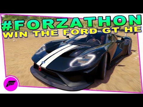Forza Horizon  Forzathon Heritage Of Speed Win The  Ford Gt Horizon Edition Forzathon