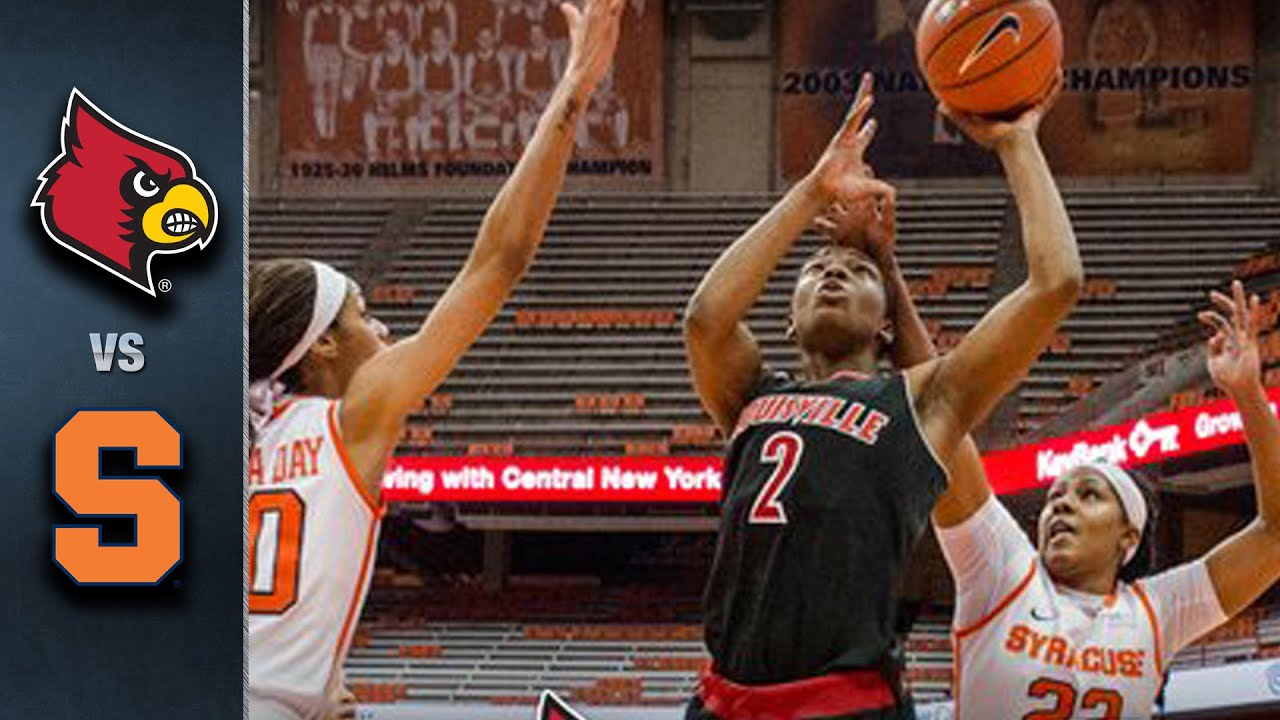 louisville vs. syracuse women's basketball highlights (2015-16