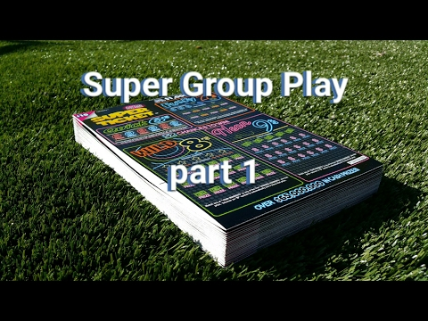 Super Ticket Group Play - Part 1 - CA Lottery