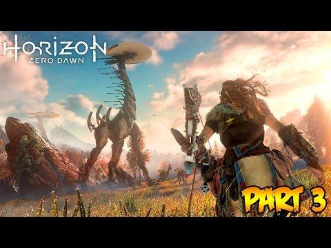 """""""Horizon Zero Dawn"""" Part 3 - CORRUPTED MACHINES ATTACK! (Horizon Zero Dawn Gameplay Walkthrough)"""