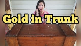 FOUND GOLD IN TRUNK I Bought Abandoned Storage Unit Locker Opening Mystery Boxes Storage Wars