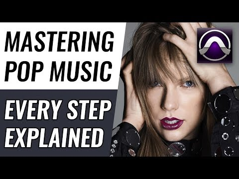 How to Master a Song in Pro Tools | Every Step Explained In Detail (2019)