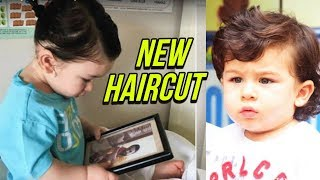 Taimur Ali Khan NEW HAIRCUT Cute Photos Go Viral